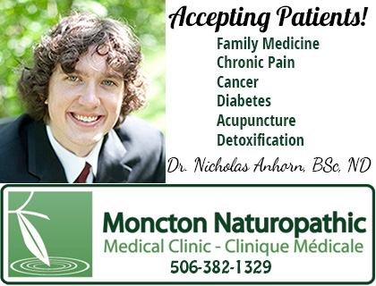 New Naturopathic Doctor, Dr. Nicholas Anhorn