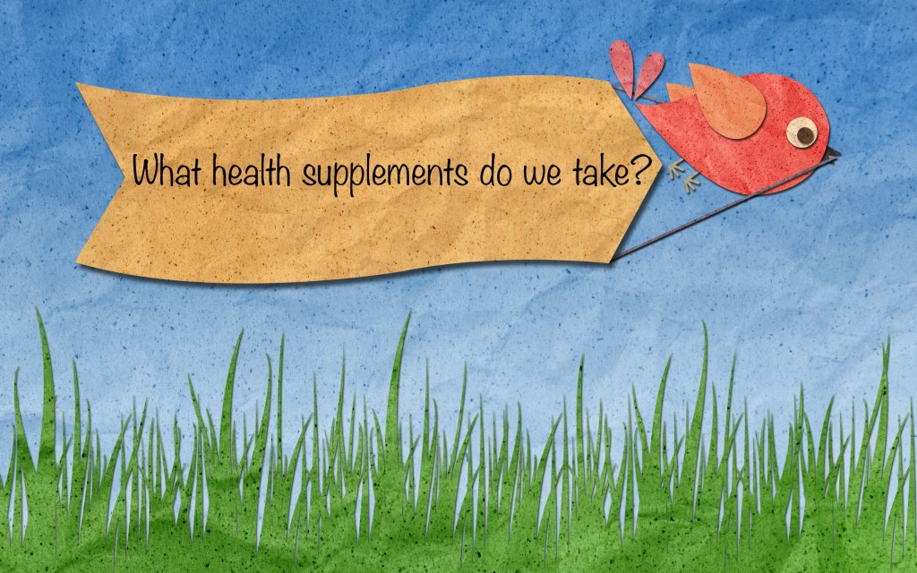 We commonly get asked questions about what supplements we take. Here we'll share some information on what we take and why